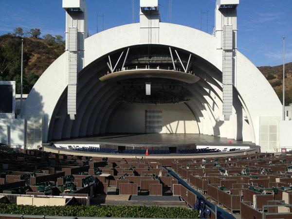 Hollywood Bowl Terrace Box 1142