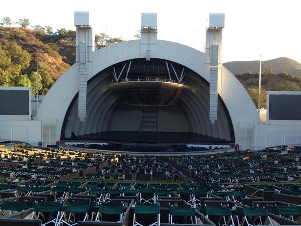 Hollywood Bowl Terrace Box 1543