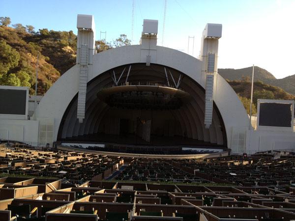 Hollywood Bowl Terrace Box 1647