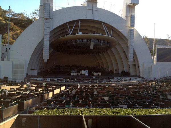 Hollywood Bowl Terrace Box 1256