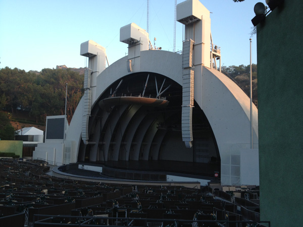 Hollywood Bowl Section D Row 6 Seat 24
