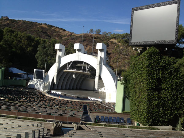 Hollywood Bowl Section F3 Row 18 Seat 6