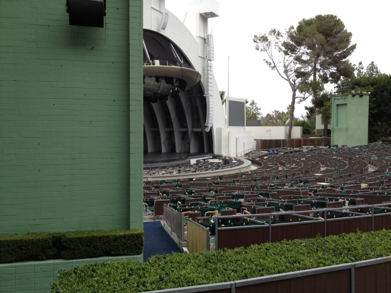 Obstructed views at the Hollywood Bowl