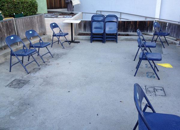 Hollywood Bowl ramp