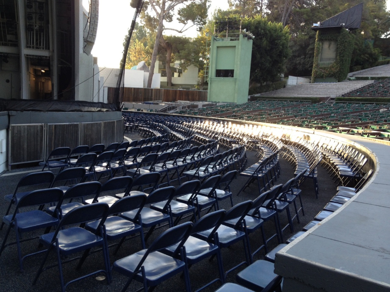 Hollywood Bowl lease event pool circle seat types