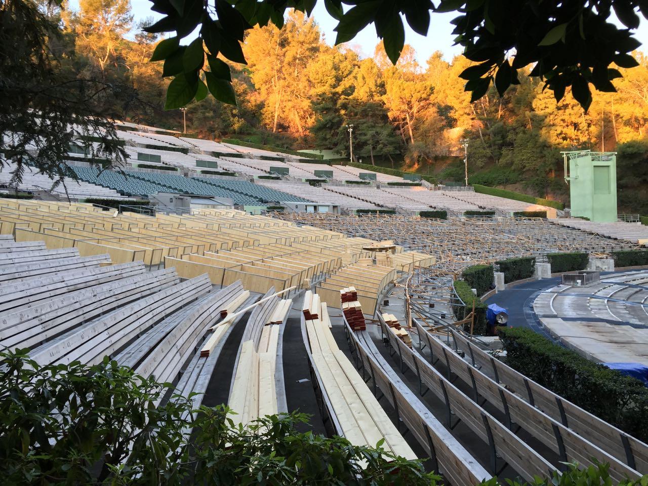 Hollywood Bowl Terrace Box Refurb