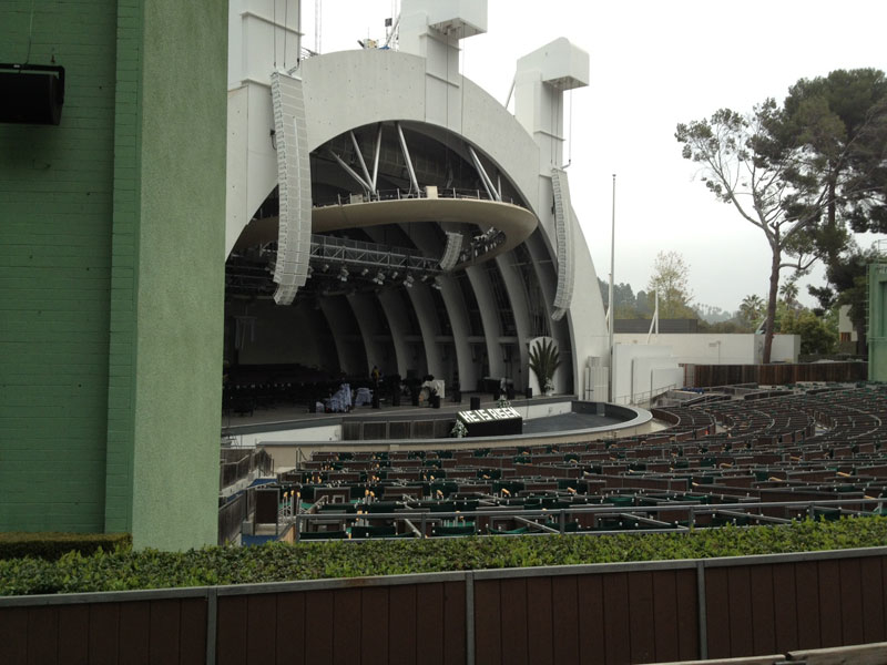 Hollywood bowl seating chart section e section e and the for Terrace 5 hollywood bowl