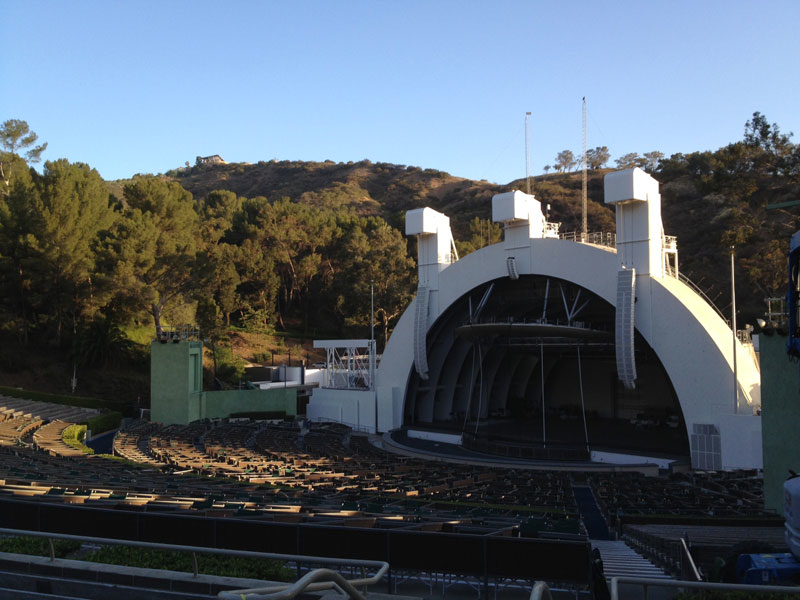 Hollywood Bowl ection F3 row 8 seat 2