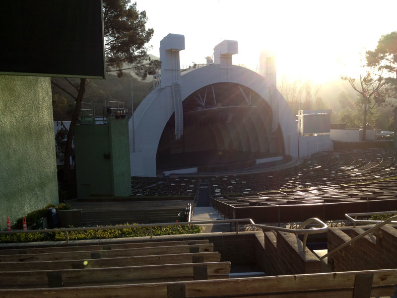 Section e and the obstructed view hollywood bowl for Terrace 3 hollywood bowl