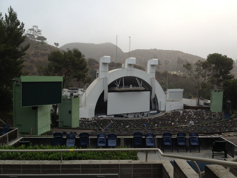 Hollywood Bowl section p3 row 6 seat 5