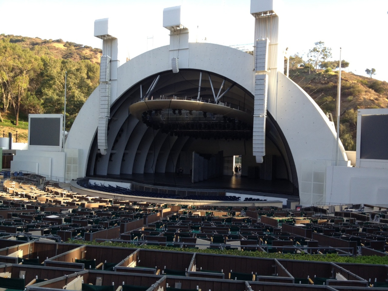 Hollywood Bowl Terrace Box 1334