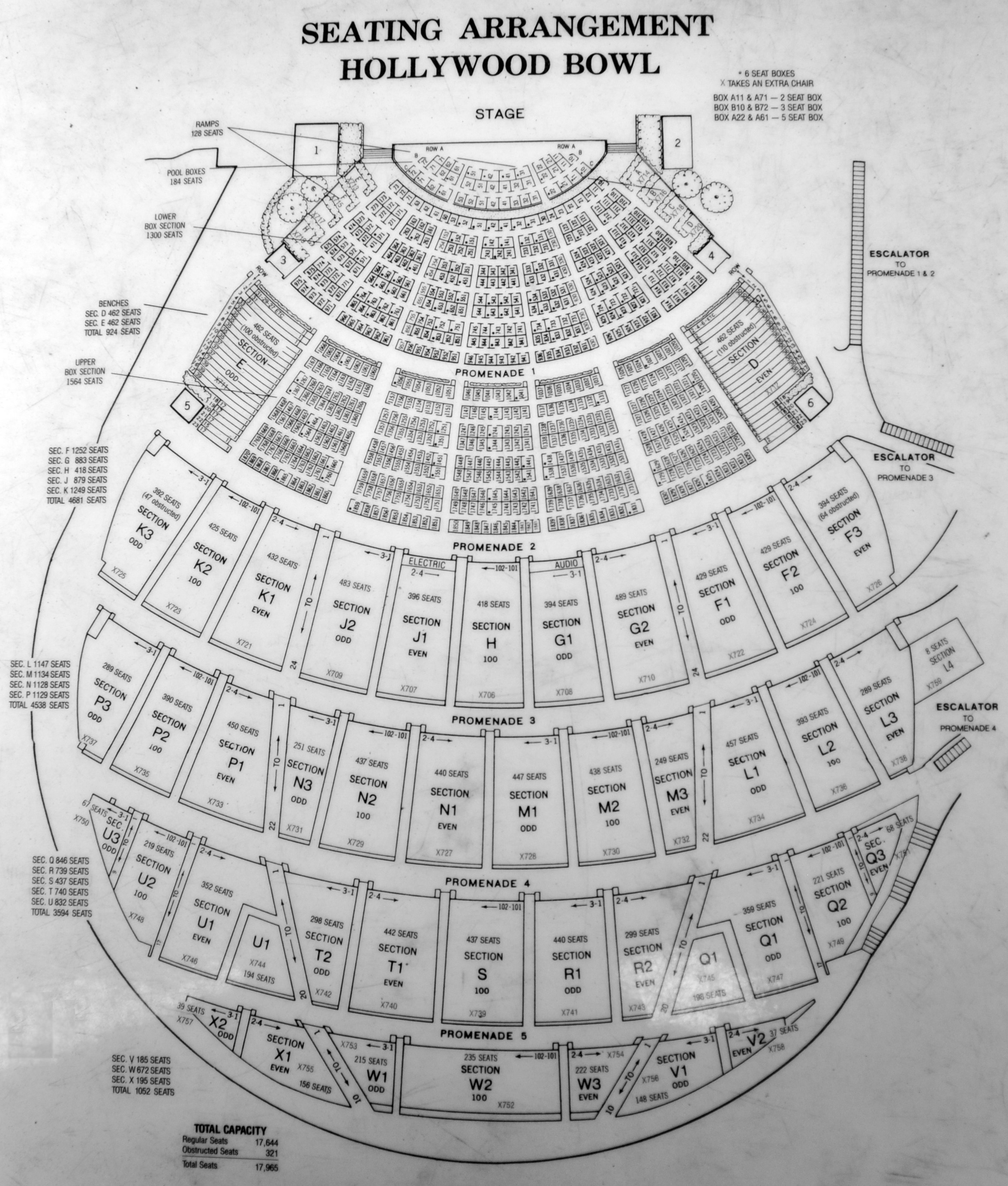 Hollywood bowl seating chart pdf hollywood bowl seating for Terrace 2 hollywood bowl