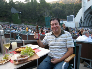 Hollywood Bowl box dining