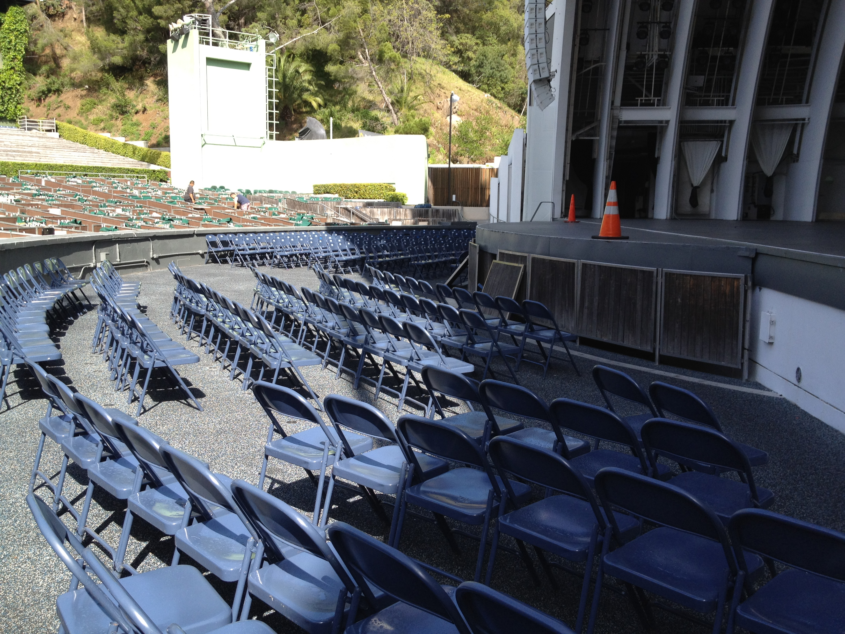 Hollywood bowl seating chart pool circle the best for Terrace 2 hollywood bowl