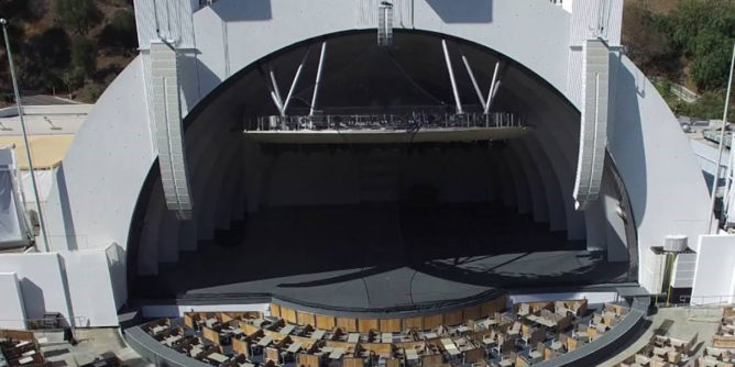 Hollywood Bowl Pool section seating