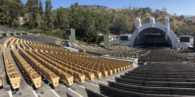 Hollywood Bowl seats