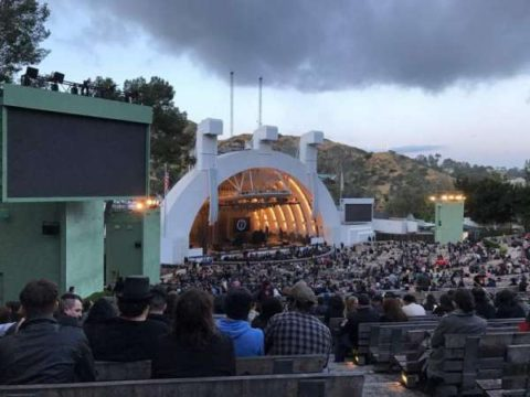 Obstructed Hollywood Bowl View