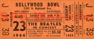 Hollywood Bowl single tickets
