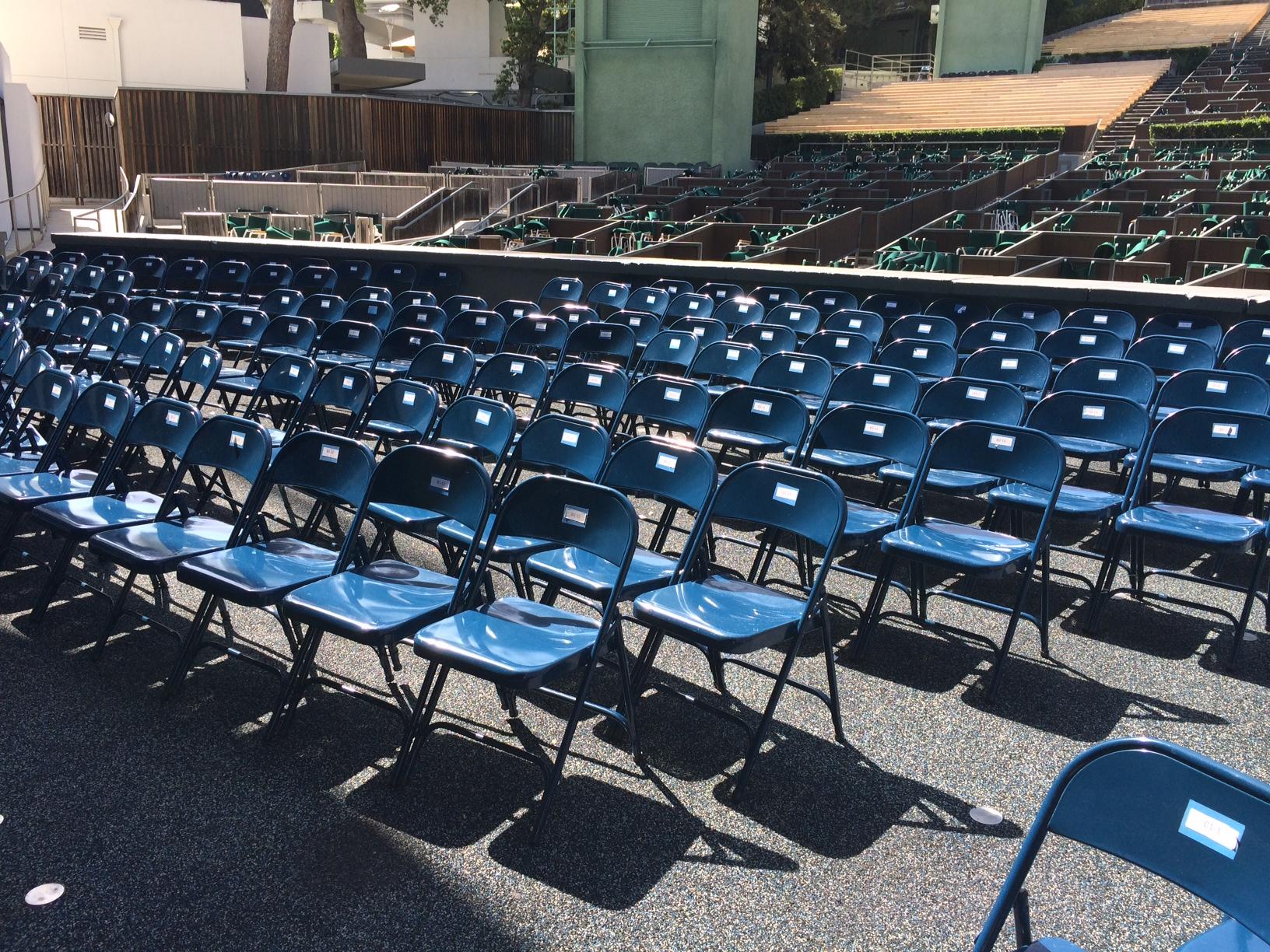 Hollywood Bowl Pool Circle Seats Hollywood Bowl Tips