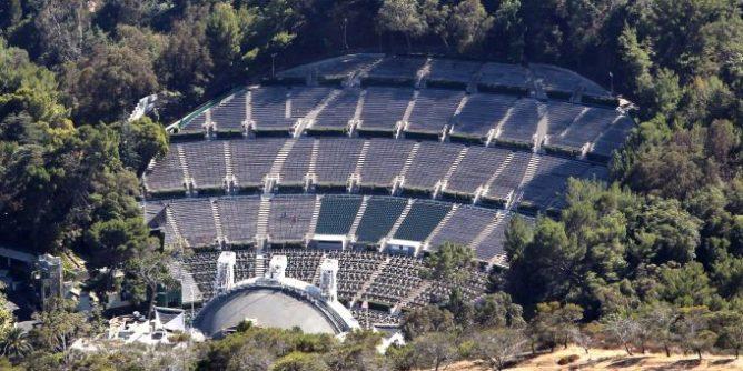 Hollywood Bowl Drone