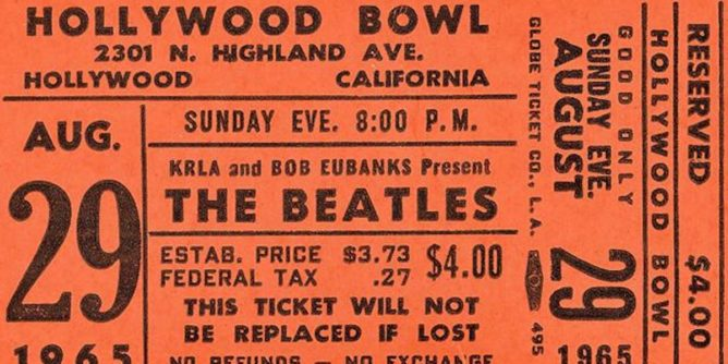 Hollywood Bowl ticket price increase in 2019