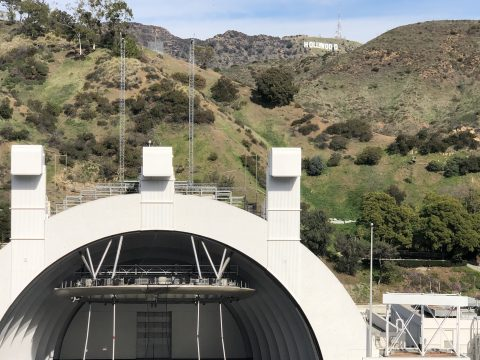 Hollywood Bowl Hollywood Sign