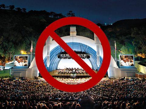 Hollywood Bowl Summer Season Cancelled