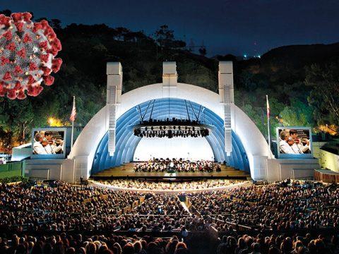 Hollywood Bowl and COVID-19