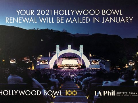 Hollywood Bowl 2021 Summer Season renewal