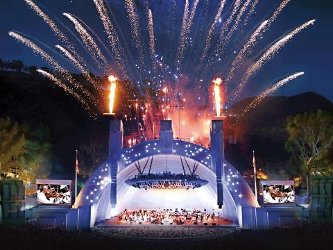 Hollywood Bowl reopening