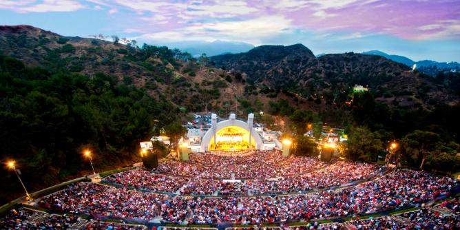 Hollywood Bowl Full Capacity