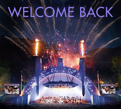 Hollywood Bowl Welcome Back